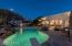 Exquisite yard with kiva fireplace, heated pool and bbq...margaritas, anyone?