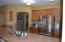Spacious kitchen fully stocked
