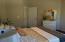 Bedroom 2 with walk-in closet.