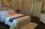 Bedroom 3 with walk-in closet.