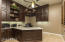 4th bedroom converted to amazing office with built in cabinets, desk and granite counters
