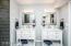 New vanities, toilet, hardware, paint, lighting...