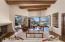 Living Room captures both Sunrise & Sunset Views