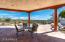 Spacious overhang patios