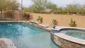 Heated/Fenced/Play Pool w/Water Fall and Heated Spa