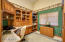 Home Office With Wet Bar