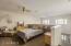 Loft bedroom exudes openess