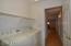 Inside laundry room! Raised panel doors!