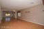 Big open living room! Plenty of room for your furniture!