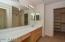 Master with walk in closet and onsuite bathroom