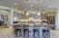 Gourmet Chef's Kitchen with GE Stainless Steel Appliances