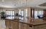 Large Island is perfect for entertaining guests and also serves as a breakfast bar.