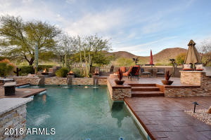 A wide arroyo backs the property allowing for extra privacy!