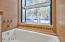 BAY WINDOW IN BATHROOM