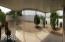 Panoramic view of backyard