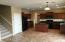 Kitchen, Island, granite counters, gas cooktop!
