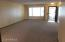 Spacious living and dining room combo