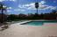 Large community pool.
