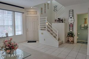 Front entrance/living room and half bath