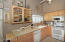 Great kitchen with tons of counter and cabinet space