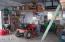 Garage and shop