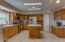 Room and spacious kitchen