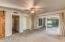 Spacious Master with exit to patio, walk in closet and remodeled bath (2017)