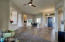 Great Room with Beautiful NEW Wood Flooring
