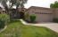 HOA-maintained front yard