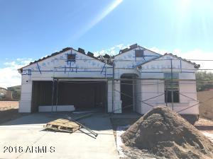 Exterior of Spec Home