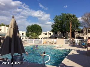 Heated Salt Water community pool is steps from your front door!