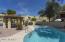 Relaxing community pool.