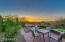 Have dinner during sunset in your backyard!