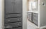 Original Built-In Cabinets adjacent to the hallbathroom