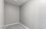 Oversized Walk-In Closet - ready to be built out to your personal specifications!