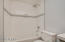 Hall Bath with all new Tile Surround