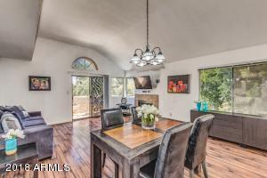 You'll love the open floor plan and vaulted ceilings!