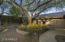 Backyard guest area