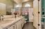 Upstairs Jack 'n Jill Bath -Dual Sink Vanity with Quartz Countertop