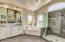 Big walk in shower, dual vanities, soaking tub and Views!