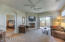Large open family room with plenty of space for entertaining.