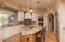 New Kitchen featuring New custom cabinets, countertops and Wolf/SubZero appliances