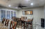 Formal dining area AND breakfast bar for more casual dining
