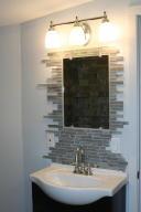 Master Bath Vanity and Custom Mirror