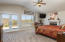 Master suite; wood burning fireplace, endless views from private walk deck