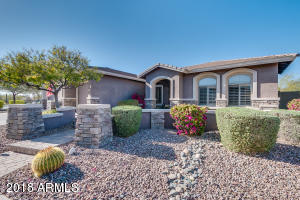 CURB APPEAL! Pavers, Stone Elevation, Desert Landscaping