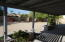 Shady back porch, north facing, overlooks good sized yard