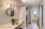 Master bedroom vanity area