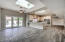 Nice open kitchen and living area. Perfect for entertaining!