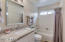 Hall Bath, matching Granite & Fixtures to that of Master Bath